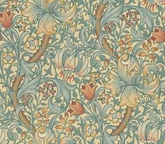 Morris and Co Golden Lily 210401 wallpaper from the Archive Wallpapers…