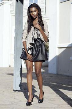 My Booker Management Agency - Rachel Mahinda - model and talent portfolios Leather Skirt, Management, Skirts, Model, Fashion, Moda, Leather Skirts, Skirt