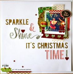 Sparkle & Shine, It's Christmas Time! by @drienne at Studio Calico