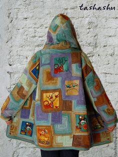 Gorgeous knitted sweaters, jackets, coats Handmade.