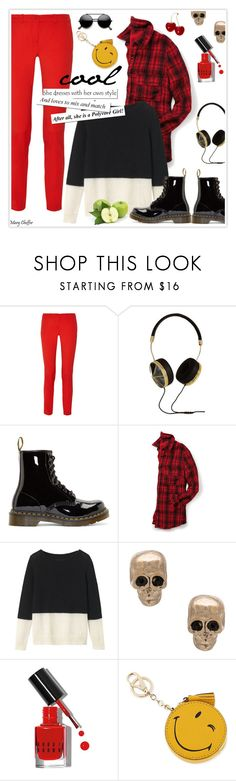 """""""cool"""" by mcheffer ❤ liked on Polyvore featuring Michael Kors, Frends, Dr. Martens, maurices, Toast, Givenchy, Bobbi Brown Cosmetics, Anya Hindmarch, skinnyjeans and booties"""