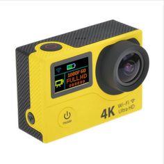 2 Näytön 4K Action Kamera € 51,72 | Tavaraa Halvalla Kiinasta Technology Gadgets, Digital Alarm Clock, Geeks, Geek Stuff, Action, Cool Stuff, Geek Things, Cool Things, Group Action