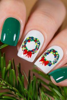 Christmas Nails, Ideas Navideñas, Manicure, Nail Designs, Lily, Make Up, Nail Art, Beauty, Mj