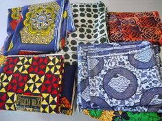 Fabriques from Togo. Kankaita Togosta.