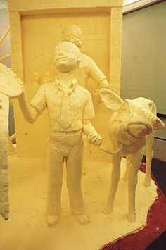 Butter sculpture for Pennsylvania Farm Show 2012