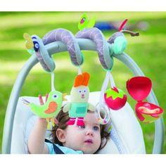 Taf Toys Παιχνίδι Καροτσιού Garden Spiral 20€ Play, Spirals