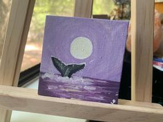 Small Canvas Paintings, Easy Canvas Art, Small Canvas Art, Cute Paintings, Mini Canvas Art, Acrylic Painting Canvas, Simple Acrylic Paintings, Mini Toile, Arte Fashion