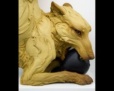 Beth Cavener Stichter sculpture - The Four Humors: The Choleric