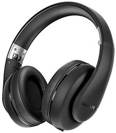 Sentey Wired Headphones Warp Pro Black Rubber Painting LS-4422 Over-the-Ear with Detachable 3.5mm In-Line Microphone audio cable and Carrying Case for Music Running Gaming Headset Men Woman Kids
