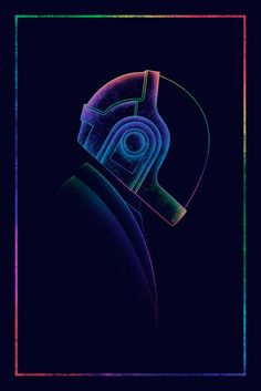 "spaceman-art: ""DP3 - Spectrum (Thomas & Guy) Gauntlet Gallery's 3rd annual Daft Punk inspired art exhibition. Prints AVAILABLE HERE """