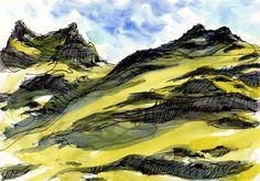 Lynne Chapman - Winnats-Pass-2 | by An Illustrator's Life For Me!