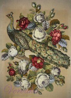 Gallery.ru / Фото #191 - СОЗЕРЦАЕМ КРАСОТУ-186 - GAVRUCHA Cross Stitch Animals, Needlework, Diy And Crafts, Victorian, Statue, Embroidery, Wool, Antiques, Pattern