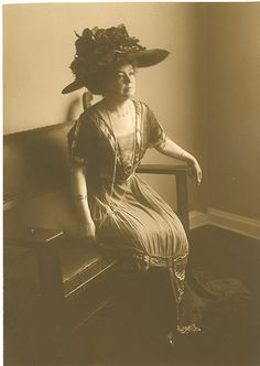 Catherine Hershey...married to Milton Hershey of candy bar fame. Look her up she is a fascinating woman!
