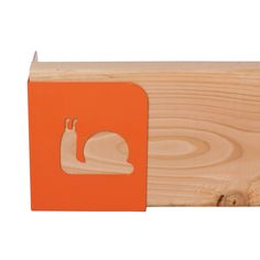 Orange snail garden brackets - or the cutest sandbox on the block!
