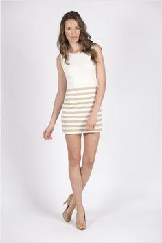 Darby Beige Dress