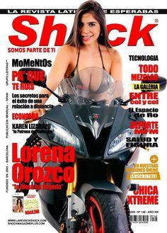 """Lorena Orozco la Diosa de Shock """"Chica Shock Abril 2018"""" en exclusiva para Shock Magazine www.larevistashock.com"""