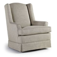 Brand new Isla - Swivel Glider - 7147 Chairs & Ottomans from Best Home Furnishings. Crowley Furniture is Kansas City's family owned furniture store for over 60 years. Futon Chair Bed, Swivel Glider Chair, Leather Swivel Chair, Glider And Ottoman, Upholstered Swivel Chairs, Chair Cushions, Recliner, Best Chairs Glider, Nursing Chair