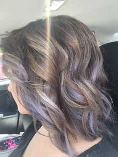 Lavender ash with brown base.. Very fun! Loving my hair