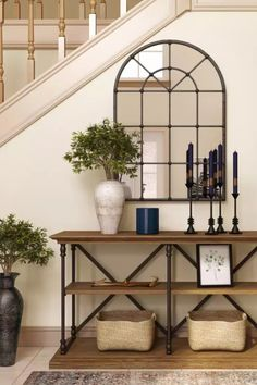 Browse interior decorating ideas on Havenly. Find inspiration and discover beautiful interiors designed by Havenly's talented online interior designers. Beautiful Interior Design, Beautiful Interiors, Entry Way Design, Rustic Room, Interior Decorating, Decorating Ideas, Small Spaces, Entryway Tables, Modern