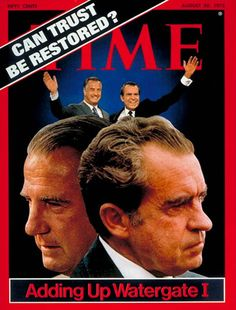 TIME Magazine Cover: Spiro Agnew and Richard Nixon - Aug. 20, 1973