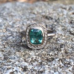 Metier by tomfoolery unique engagement ring