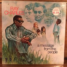 Ray Charles • A Message From The People Sealed Vinyl LP 1972 ABC Tangerine…