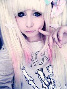 072256c9f8 pastel goth styles † Pastel Goth Hair
