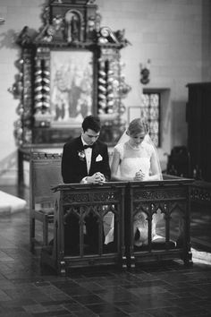 Kneeling in the chapel - you, your spouse and God