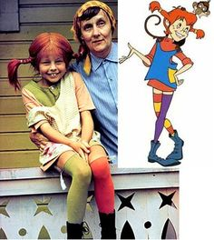 Pipi Longstocking Costume. Kinda wanna do this for Halloween I loved watching her when I was little