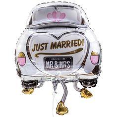 Riesenballon Hochzeitsauto #Hochzeit #Geschenk #Hochzeitsballon