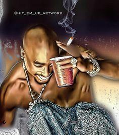 Tupac artwork