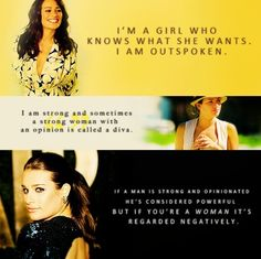 Lea speaks the truth, love this quote