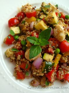 Summer Vegetable Quinoa Salad