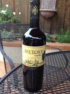 Tsantali's Metoxi wines, Mount Athos    spaswinefood