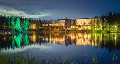 Wellnessurlaub im Rokua Health & Spa in der Region Oulu - www. Wellness Spa Hotel, Hotel Spa, Finland, Environment, River, Health, Nature, Outdoor, Low Carb