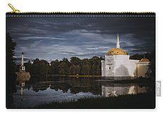 Carry-all Pouch featuring the photograph Reflections by Elena Ivanova IvEA #ElenaIvanovaIvEAFineArtDesign #Decor #Gift #CarryAllPouches