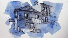 "NewYouTube Video "" Sketching on Pre-painted Paper"" | par Peter Sheeler"