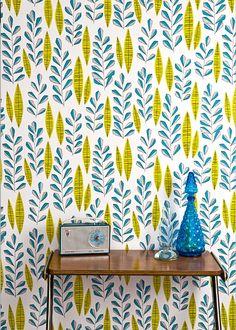 Papier peint Garden City Room - Miss Print pour Au Fil des Couleurs - Marie Claire Maison