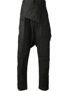 RICK OWENS - drop crotch trouser 6