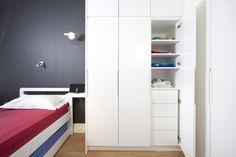 built-in wardrobe interior