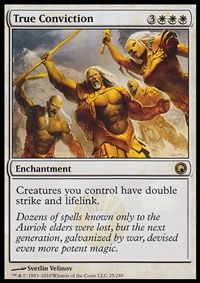 True Conviction - Enchantment - Cards - MTG Salvation