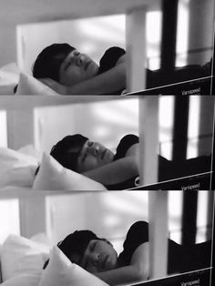 onew / how could I help myself from saving a pic of a sleeping jinki?