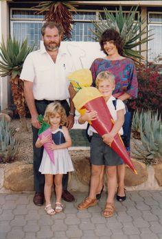 Norbert, Astrid, Harald und Carola Koch. Image : Norbert Koch