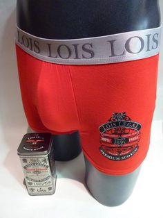 Boxer rojo para regalo - Calzoncillo empaquetado en una lata imitando a la caja de una conocida marca de bebida - Regalo Navidad - Envío 24h - Ref: 46968E. http://www.varelaintimo.com/marca/16/lois