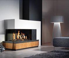 Sistemas de calor para el hogar de Jorge Fernández #Chimenea de gas #decoración #diseñointerior