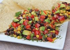 black bean corn salad recipe This stuff is so good! Esp. w/avocado. A great side dish that goes with BBQ.