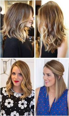 The possibilities are endless! That short to medium length is so modern, it's so fresh, I think it's really nice to go that length . It's also a great way to seem of the ombre look. If you have… Related PostsBest medium length haircuts for womenLong Bob Hair Tutorial 2017 top stylesPretty medium length hairstyles …
