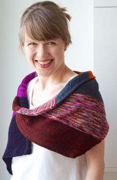 Tubularity Knitted Cowl by Martina Behm