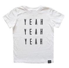 yeah yeah yeah   young one apparel