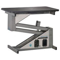 Groomers Best Hydraulic Grooming Pet Table Heavy Duty Stainless Steel